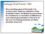 bellagio draft treaty 19891