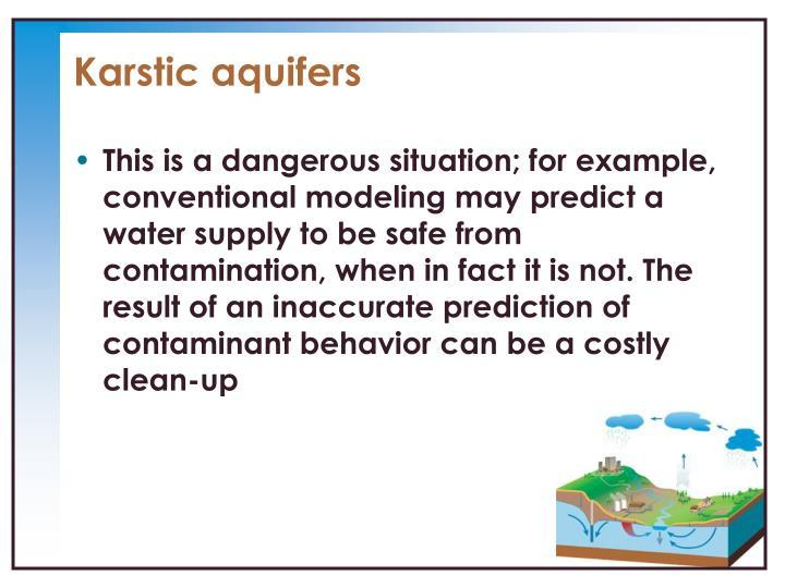 Karstic aquifers