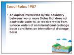 seoul rules 19871