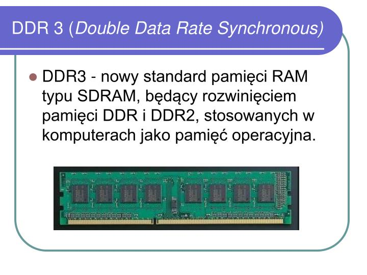 DDR 3 (