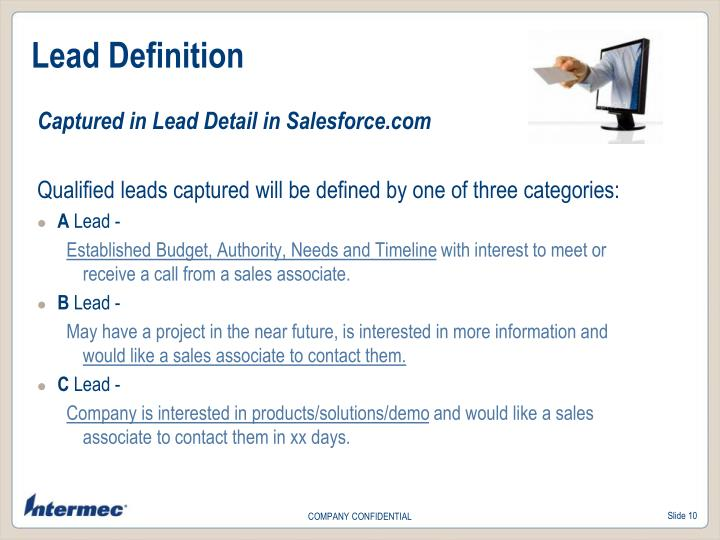 Lead Definition