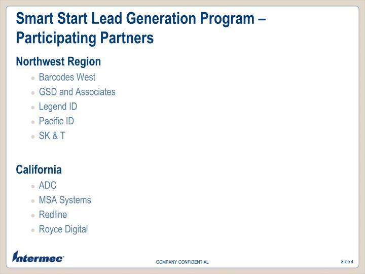 Smart Start Lead Generation Program