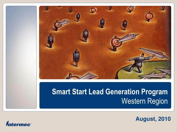 Smart start lead generation program western region