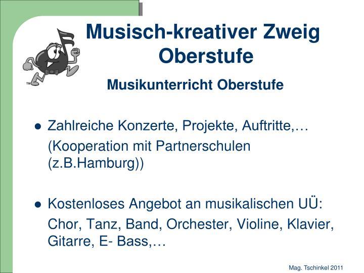 Musisch-kreativer Zweig