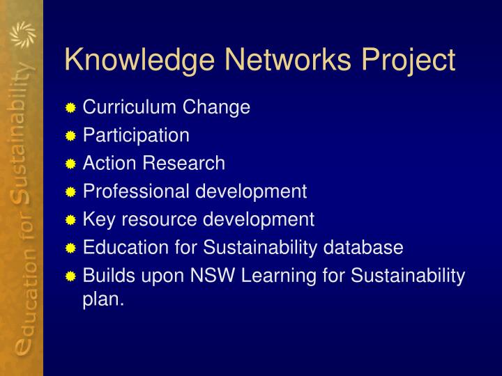 Knowledge Networks Project