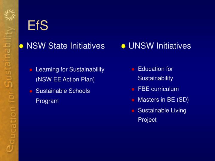 NSW State Initiatives