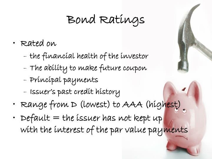 Bond Ratings