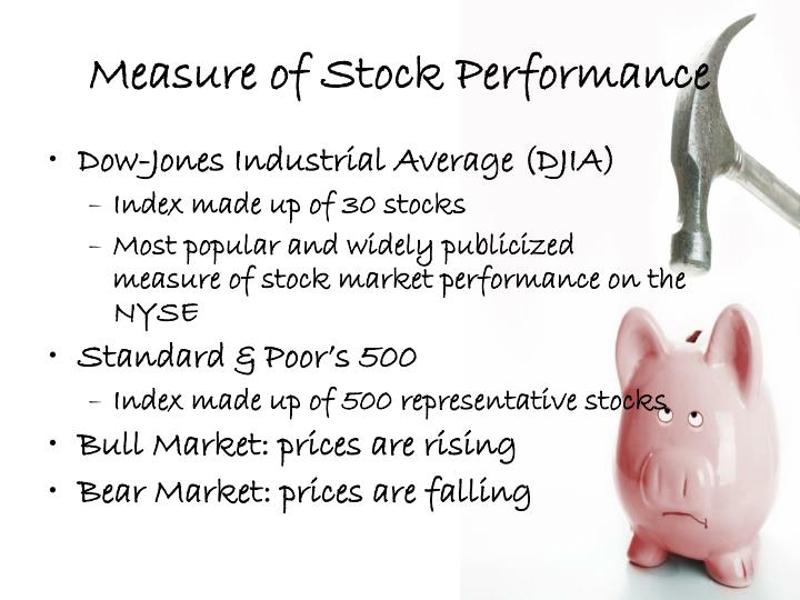 Measure of Stock Performance