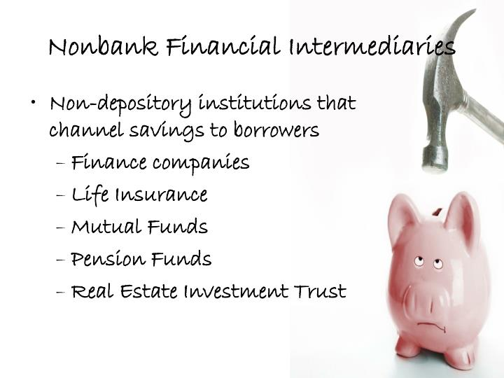 Nonbank Financial Intermediaries