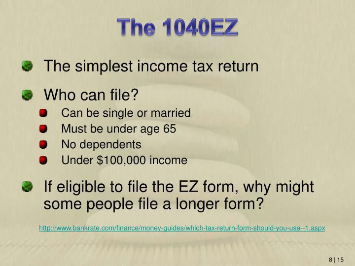 The 1040EZ