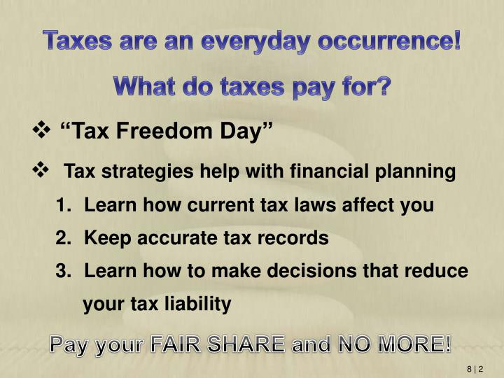 """Tax Freedom Day"""