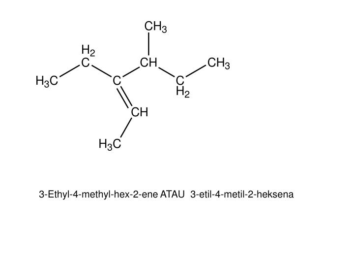 3-Ethyl-4-methyl-hex-2-ene ATAU  3-etil-4-metil-2-heksena