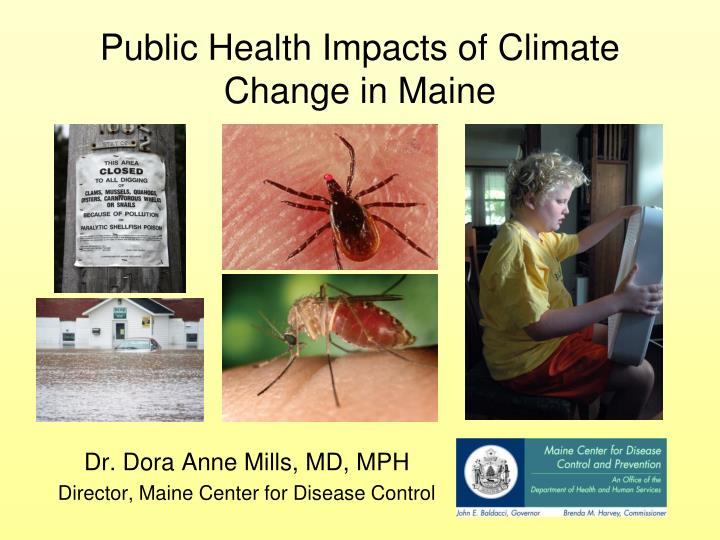 Public health impacts of climate change in maine