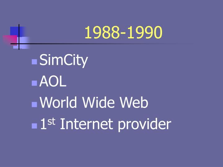 1988-1990