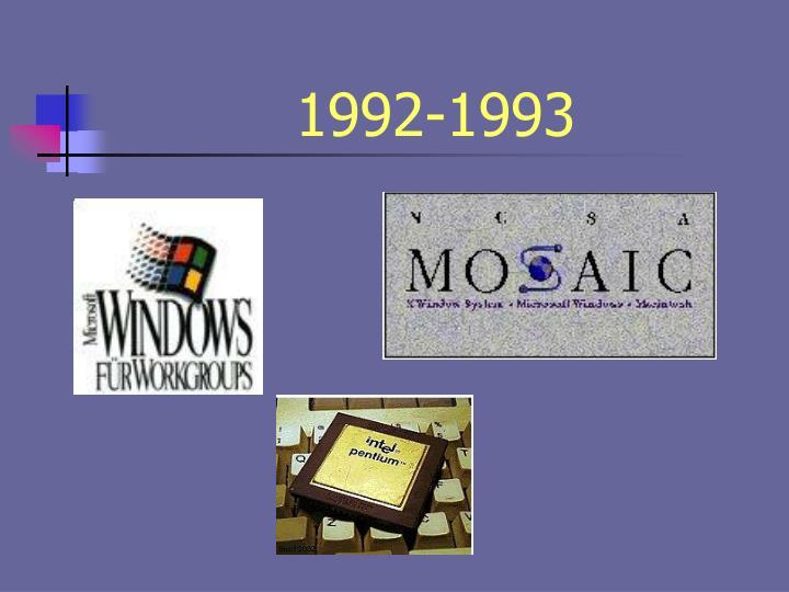 1992-1993