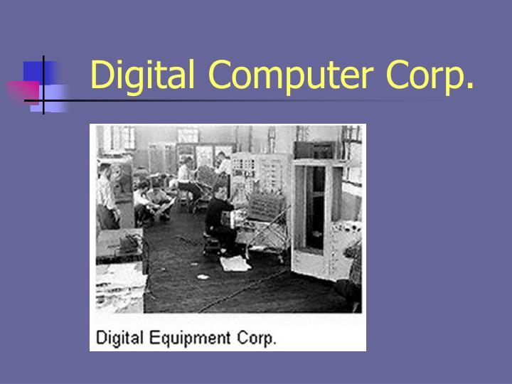 Digital Computer Corp.