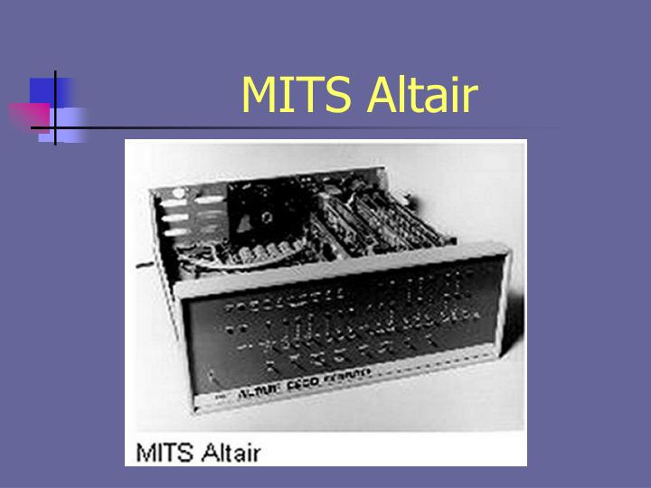 MITS Altair