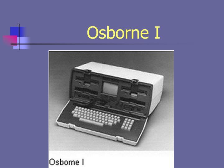 Osborne I