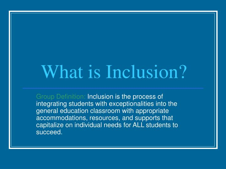 integrating students with exceptionalities essay