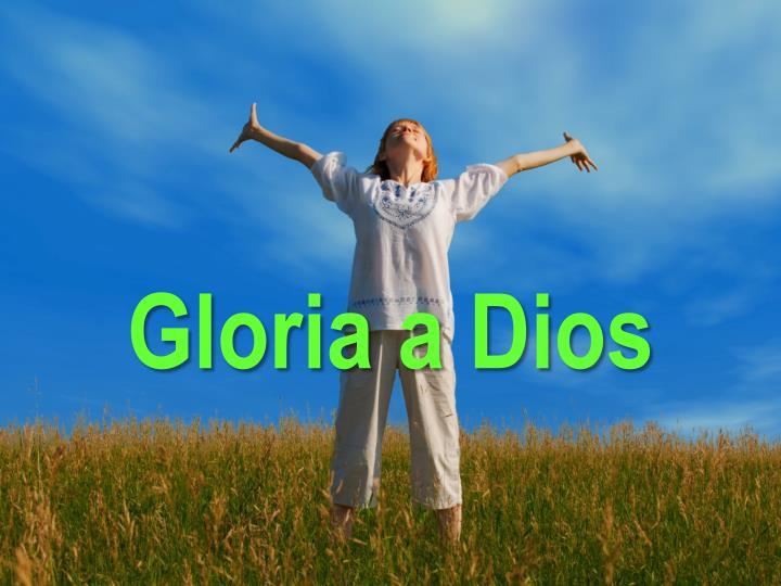Gloria a Dios