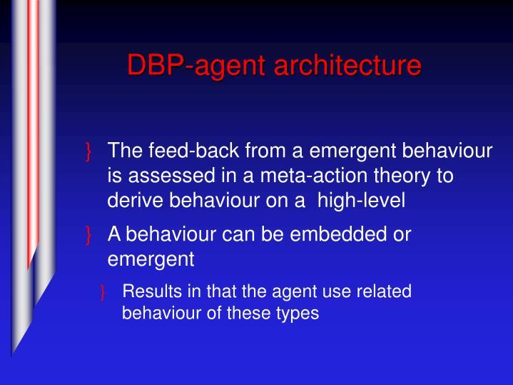 DBP-agent architecture