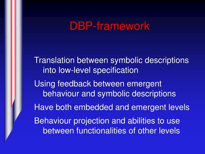 DBP-framework