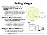 fading margin