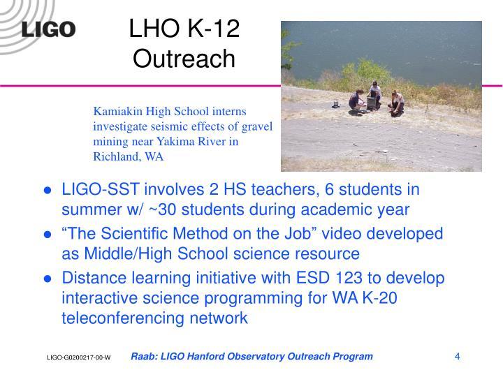 LHO K-12 Outreach