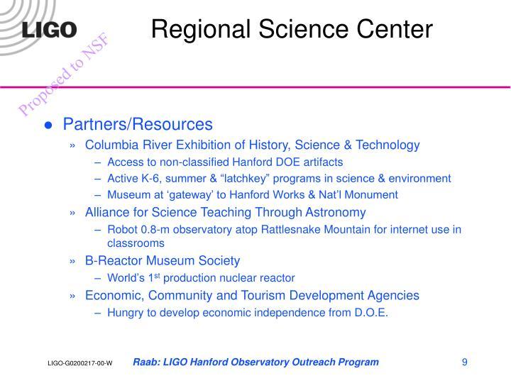 Regional Science Center