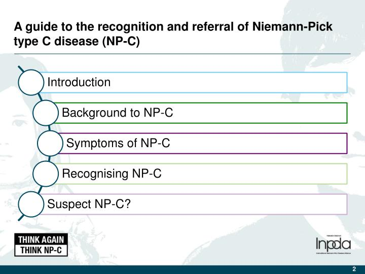 A guide to the recognition and referral of Niemann-Pick type C