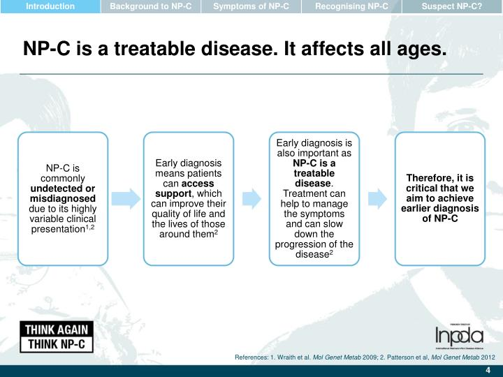 NP-C is a treatable disease. It affects all ages.