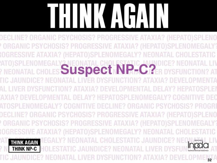 Suspect NP-C?