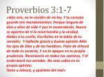 proverbios 3 1 7
