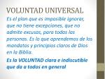 voluntad universal