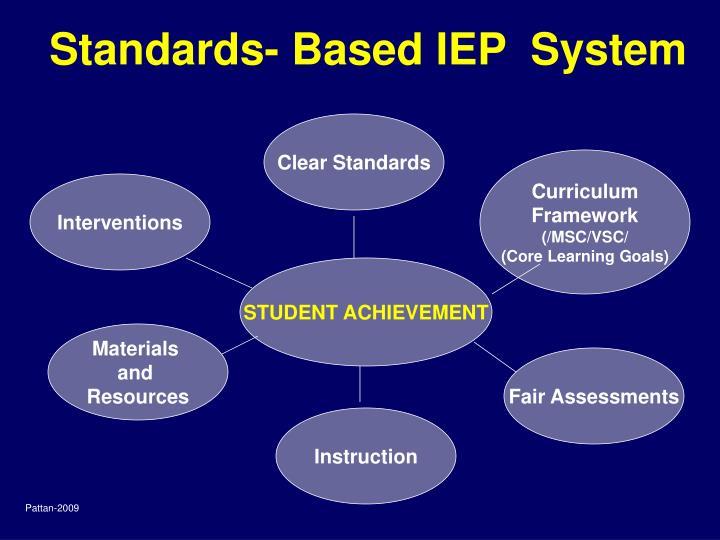 Standards- Based IEP  System
