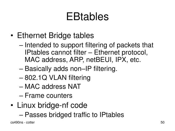 EBtables