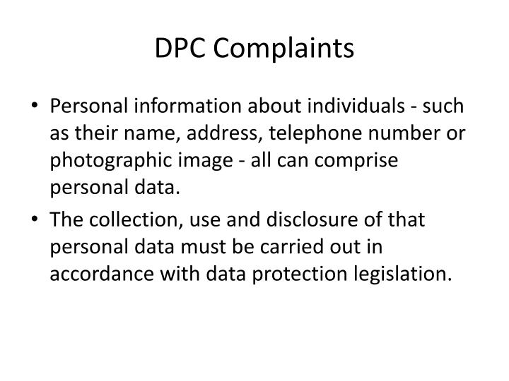 DPC Complaints