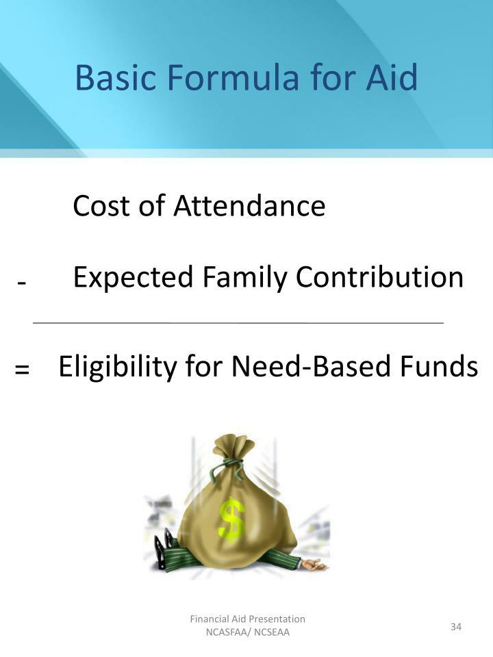 Basic Formula for Aid