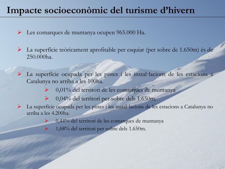 Impacte socioeconòmic del turisme d'hivern