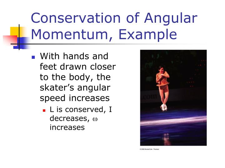 Conservation of Angular Momentum, Example