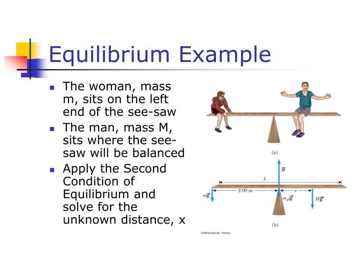 Equilibrium Example