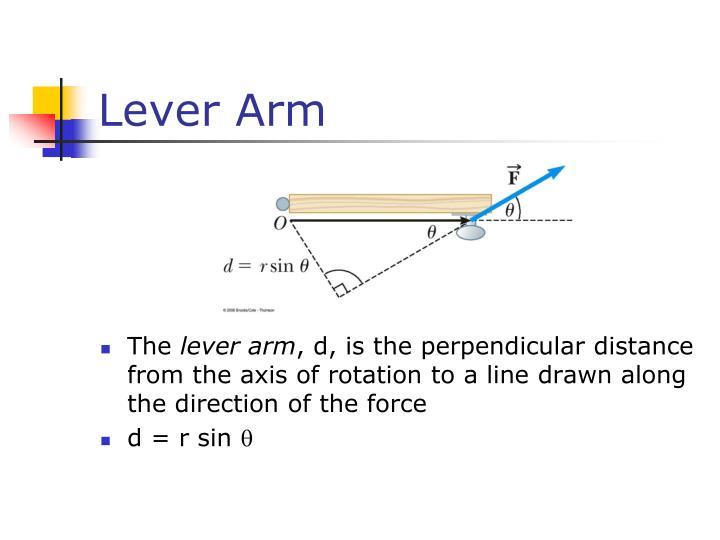 Lever Arm