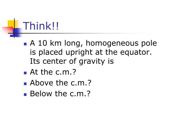 Think!!