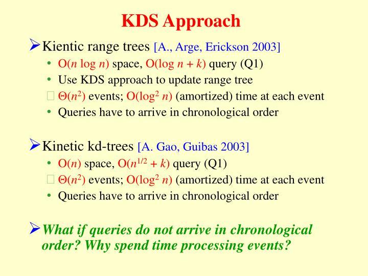 KDS Approach