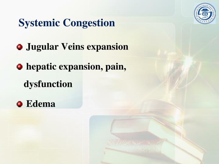 Systemic Congestion