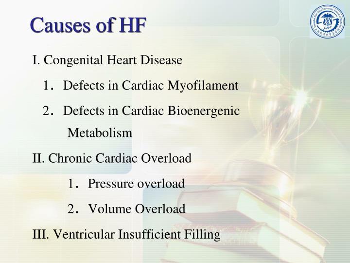 Causes of HF