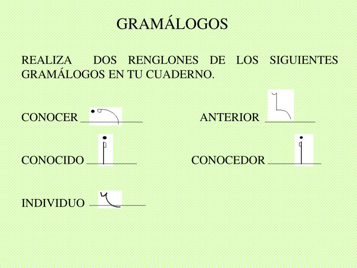 GRAMÁLOGOS