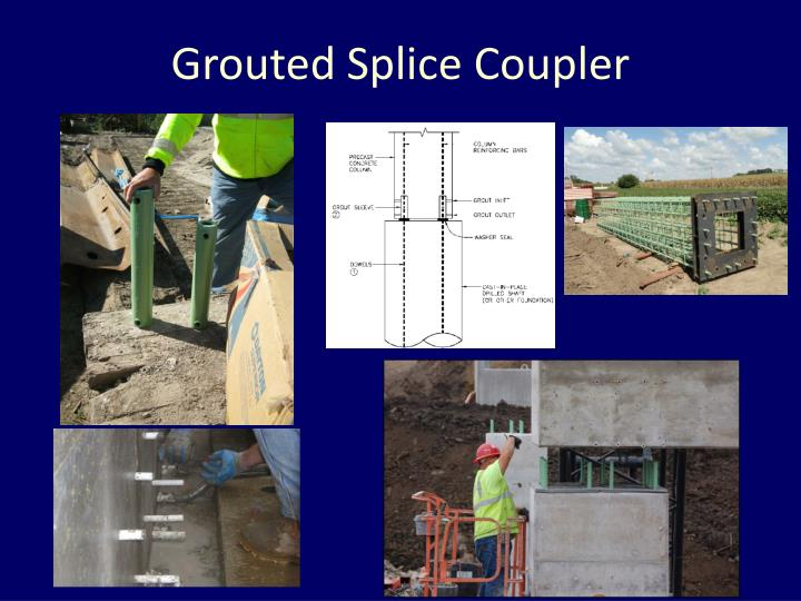 Grouted Splice Coupler