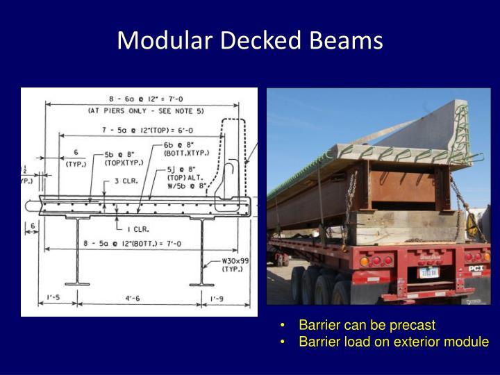 Modular Decked
