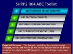 shrp2 r04 abc toolkit